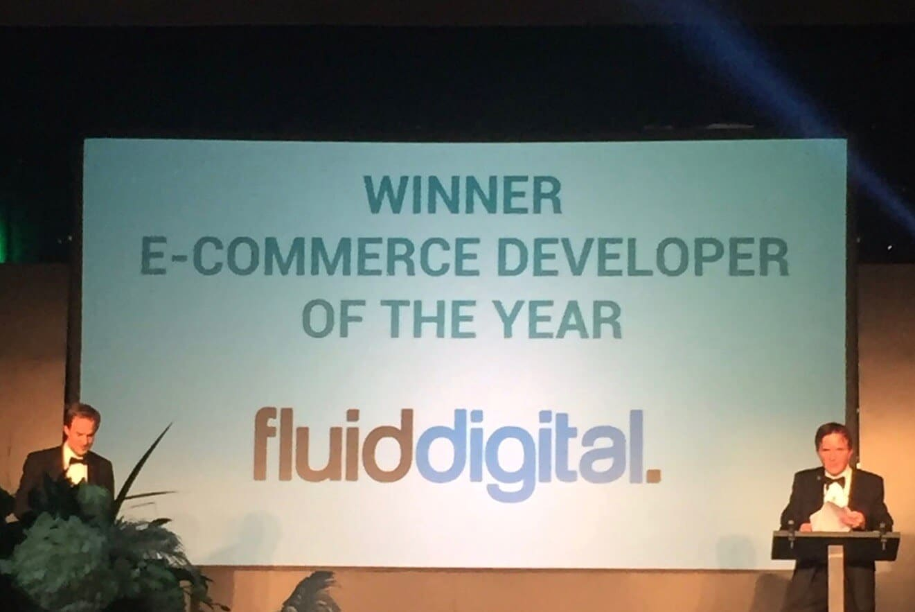 Fluid Digital Win E-Commerce Developer of the Year 2016