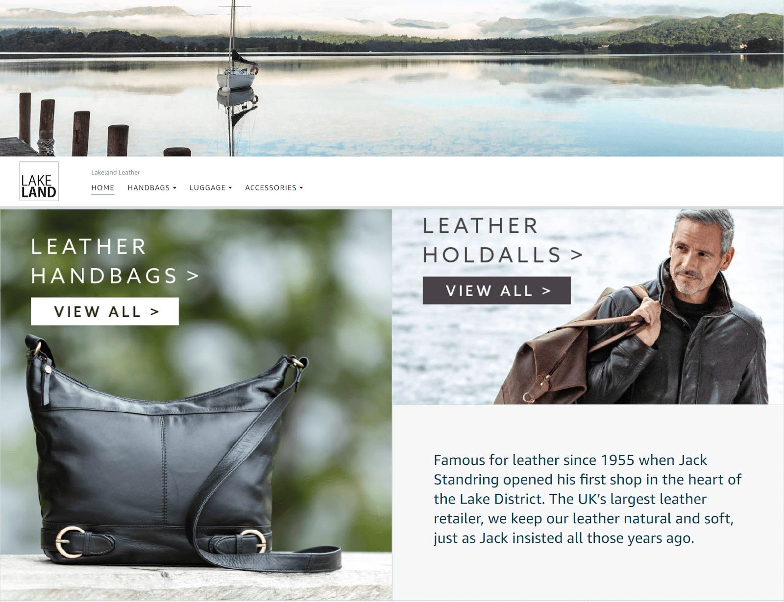 Lakeland Leather Amazon Brand Store