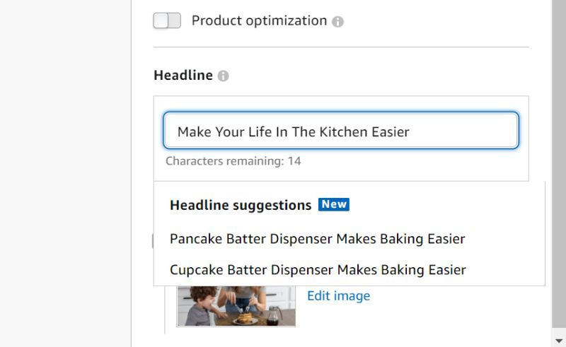 Suggested Headlines for Sponsored Brands